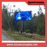 Brilho elevado do diodo emissor de luz ao ar livre Dislpay video da cor cheia para anunciar (960mm*960mm pH10)
