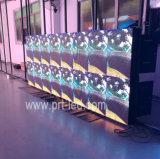 Visualización de pantalla a todo color al aire libre de la resolución LED de HD para hacer publicidad (P4, P5, P6)