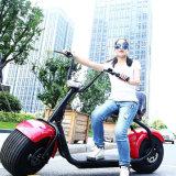 Scooter électrique de moto de la vente 2017 de postes de ville pneu neuf chaud de cocos de gros