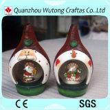 Globo pequeno da neve de Papai Noel da decoração quente do Natal da venda