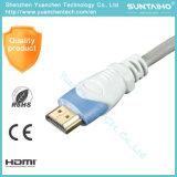 1.4V Kabel HDMI van de Hoge snelheid 1080P van de Kabel van HDMI 4k 3D