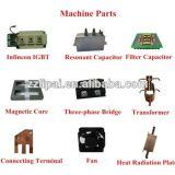 위조를 위한 강철과 금관 악기 로드 유도 가열 기계