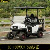 Тележка гольфа 4 Seater электрическая с задним сиденьем кувырка