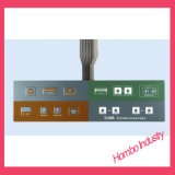 Soem-transparenter Farben-Metallabdeckung-Membranschalter für Mikrowellenherd