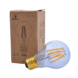 에너지 절약 LED 전구 A19/A60 네오디뮴 유리제 LED 필라멘트 전구