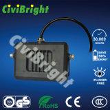 IP65는 GS를 가진 패드 호리호리한 LED 투광램프를 방수 처리한다
