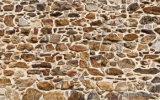 Конструкция картины камней напечатала на панели стены для домашнего украшения