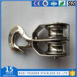 Blocchetto della parte girevole del gemello dell'acciaio inossidabile