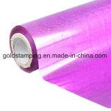 Lámina para gofrar caliente material del animal doméstico metálico y olográfico