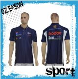 Chemises de polo des hommes de mode d'impression d'écran d'OEM (P006)