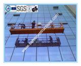 안전한 건축을%s 밧줄에 의하여 중단되는 플래트홈