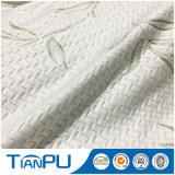 Tissu de coutil de matelas tricoté par bambou organique de fournisseurs d'usine de la Chine