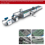 Impresión Flexo de alta velocidad de 8mm y máquina de hojas de papel con inserción de la tapa