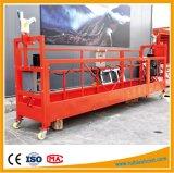 Zlp500 / ZLP630 / Zlp800 / Zlp1000 aluminio plataforma suspendida, galvanizado construcción góndola