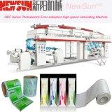 Máquina de alta velocidad de la laminación del papel de aluminio de la serie de Qdf