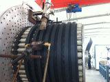 Ligne d'extrusion de tuyaux en spirale renforcée en métal PEHD