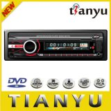 Adaptador portátil DVD Rádio do leitor de estéreo de carro com altifalante FM USB