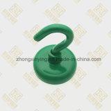 Surgeon magnétique vert avec le crochet, aimant de NdFeB