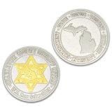 Moneta d'argento del ricordo di promozione di alta qualità