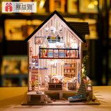 子供の教育演劇の一定の人形の家の木の子供のおもちゃ