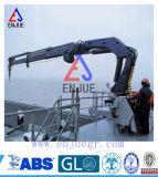 油圧指の関節望遠鏡ブームの沖合いの船クレーン