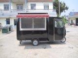 Carrello mobile degli alimenti a rapida preparazione della via del motociclo (SHJ-MFR220GH)