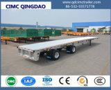 Cimc 40ton 40FT de 3 eixos do recipiente da plataforma reboque Semi