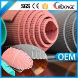 Matériau commercial de couvre-tapis de yoga de gymnastique de qualité d'assurance