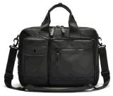 Sac d'affaires de loisirs de mode de Fuction de cahier de sac à main d'ordinateur portatif