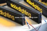 P6 버스를 위한 반 옥외 LED 이동하는 메시지 표시 또는 택시 또는 차