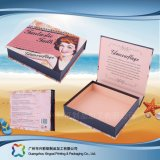 Étalage caisse d'emballage en bois/carton se pliante pour le cadeau/produit de beauté (xc-hbc-003)