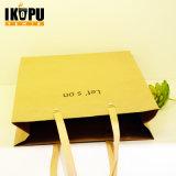 도매 싼 Eco에 의하여 박판으로 만들어지는 서류상 쇼핑 백