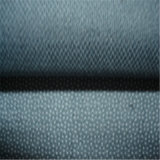 Homens combinam Twill Fusible Woven Polyester Viscous Denin Interlining