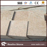 Sunset Golden / Rustic Yellow Granite G682 Stone Paving para paisagismo