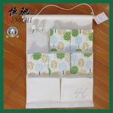 Карманн полотна/хлопко-бумажная ткани 5 вися устроителя мешка хранения
