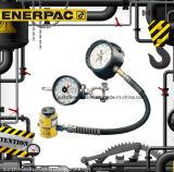 Первоначально метр и ячейки загрузки напряжения Enerpac