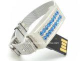 보석 USB 기억 장치 지팡이 Thumbdrive 소맷동 USB 섬광 드라이브