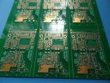 Ciechi via Fr-4 al PWB spesso dell'oro verde di 1.6mm