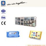 Máquinas de toalhetes molhadas mais vendidas para fabricação de tecido úmido portátil