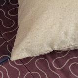 Подушка валика покрашенный вручную цвета дома софы шаржа персонализированная декором декоративная
