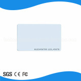 IDENTIFICATION RF Smart Card de PVC blanche