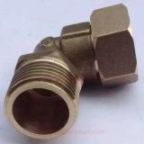 Ajustage de précision de pipe mâle en laiton de coude d'amorçage de Femal pour le chauffe-eau