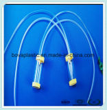 Catéter médico de la succión disponible no tóxica clara del PVC
