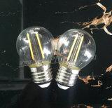 Filamento de la MAZORCA del bulbo del filamento del LED, G45