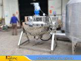 Caldaia rivestita d'acciaio di Stainlstss che cucina caldaia 300liter