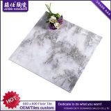 Precio del azulejo de suelo de mercado de China en moldes de cerámica del silicón de los azulejos de suelo del color de rosa de las rupias de Paquistán