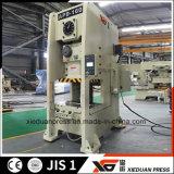 De semi Gesloten Machine van het Ponsen 160ton met Omschakelaar van de Frequentie van Taiwan de Delta, Beschermer van de Overbelasting van Japan Showa de Hydraulische