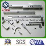 ステンレス鋼アルミニウムは製粉された製造の予備品CNCの機械化の機械装置部品を回した