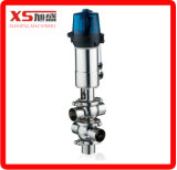 Клапан Смешивать-Доказательства тела струбцины Ss304 63.5mm пневматический для CIP берет