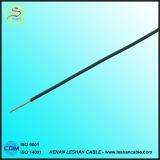 Remplissage flexible à un noyau de vente chaud de PVC de conducteur de fil électrique et câble isolé